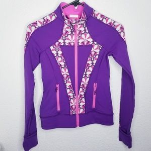 Ivivva Athleta Sweater Full Zip Size 10 Purple
